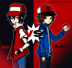 Champion Vs Trainer by UnluckyLapin