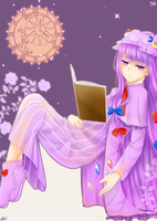 Patchouli Knowledge by ichigomeichan