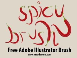 Spicy Brush for Illustrator by Grasycho