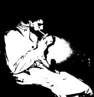 Hellblazer, sin city style by antihero276