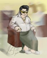 fat elvis by annex