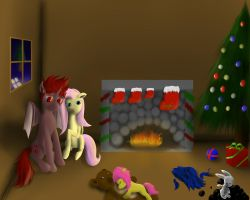 Our first family hearth's warming by JasontheDemon