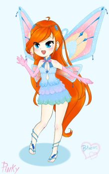 Bloom-winx by pinkymeowchan