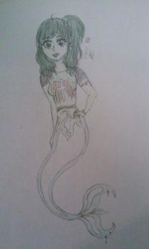 Gothic Mermaid!! by doglover947