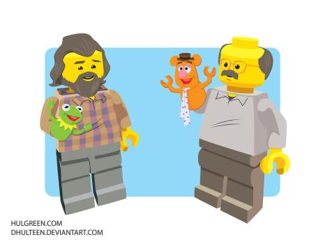 Lego Muppet Performers by dhulteen