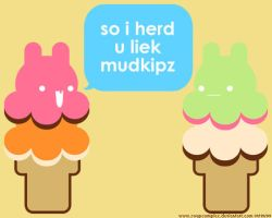 so i herd u liek mudkipz by hellohappycrafts