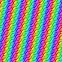 Rainbow Steps Pattern by Humble-Novice