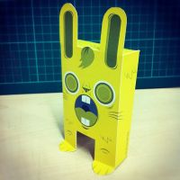 YELLOW Bunny 01 by GalactikCaptain