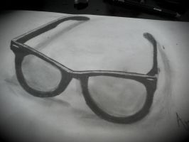 my first 3D draw by manolapotter