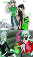Roll Switch - Danny Phantom by HezuNeutral