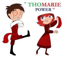 Thomarie-power-tribute by firerirock