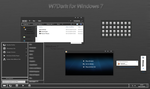 W7Dark for Windows 7 by Creativityx