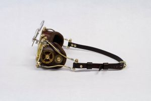 My Personal Steampunk Goggles by CraftedSteampunk