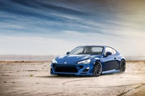 Toyota GT86 Blue Oasis by asoares