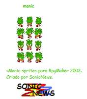 manic sprites para rpgmaker by sonicnews