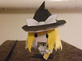 Marisa Papercraft Touhou by TheChaos0