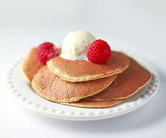 Five Minute Gluten Free Pancakes by chompsoflife