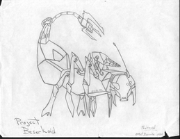 Phobanoid 13 first concept by TwinSabreInferno