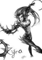 Zyra - League of Legends by Oxide23