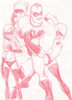 The Incredibles by keebyo