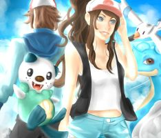 Pokemon Black and White by chi-tokiyo