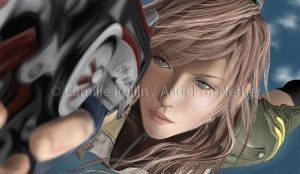 FFXIII - Lightning by Angel-of-Nether