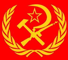 New communist logo by blackbytezero