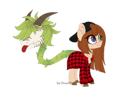 Gail and Eby by Cloud-Fly