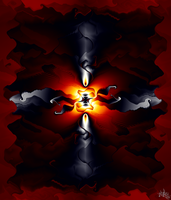 the flame that burns within by skulkey