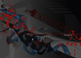 EXPLOSION by Uniquedee