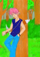 Pinky and his tree by Zaije