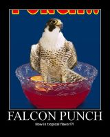Motivational Falcon Punch by SetaTheWaywardNinja