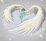 Angel by LazyBird1360
