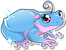A Shiny Politoed Appeared by MBPanther