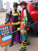 Free Comic Book Day by lillywh