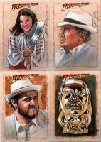 Mo Indy sketchcards: Raiders by jasonpal