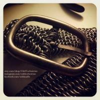 Yet Another Chainmail Belt by ulfchild