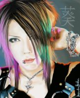 Gazette - Aoi by vanillaMilk