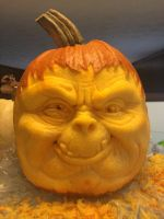Pumpkin Carving 2014 by Octave13