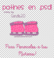 Patines. by Cande20