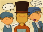 You fail, Layton -Color ver- by Swamperts