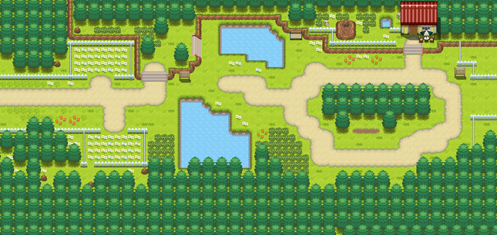 Route 117 remake by Pokemon-Diamond