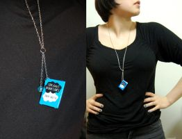 The Fault in Our Stars - Long Necklace by redbird7