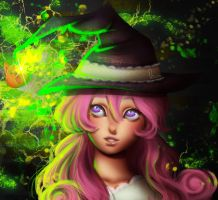 Charm witch by VanillaKeyblade