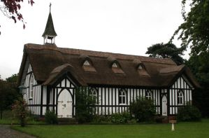 Stock - Thatched Church by GothicBohemianStock