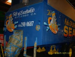 Detail of Seal Bus rear by MuralsbyLeBold