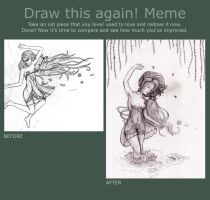 Draw this again! Meme by ConviviumStudios