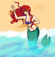 Little Mermaid by Gold-Cadet