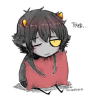 Homestuck - Tired by Rika-Wawa