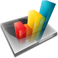 Chart icon by Ornorm